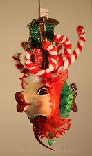 Katherine´s Collection Rentier Weihnachten Glitter Kissing Fish Fisch NEU 14cm