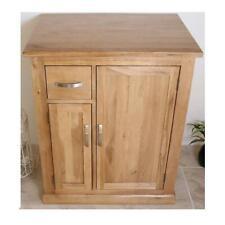 Solid Oak Bathroom Furniture Vanity Cabinet | Cupboard Storage Unit 750mm 503
