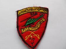 """VIETNAM US ARMY 334TH ARMED HELICOPTER COMPANY """"FIRST WITH THE GUNS PATCH(BOX10)"""