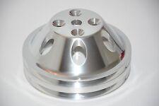 273 318 340 360 V8 Mopar Dodge Polished Aluminum Double Groove Water Pump Pulley