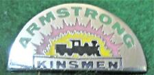ARMSTRONG BRITISH COLUMBIA KINSMEN Lapel Pin Near Mint