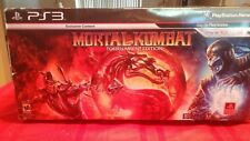 PS3 MORTAL KAMBAT TOURNAMENT FIGHT STICK WITH GAME USED IN THE BOX SEE PIC'S