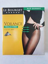 LE BOURGET COLLANT VOILANCE 20 DEN TAILLE 3 COULEUR NOIR SLIP GAINANT