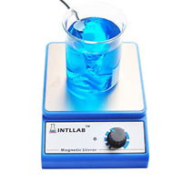 Magnetic Stirrer Stainless Steel Magnetic Mixer stir bar No Heating Max Stirring