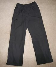 The North Face WindyPass Men's S Black Ski Snow Pants ULTREX Full Leg Zippers M1