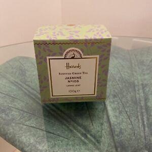 Harrods Jasmine Tea Scented Green Tea Loose Leaf 100g