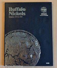 Whitman Coin Folder for Buffalo Nickel #9008, 1913 to 1938*