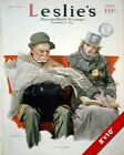 NORMAN ROCKWELL ARTIST 1918 MAGAZINE COVER ARTOIL PAINTING PRINT ON REAL CANVAS