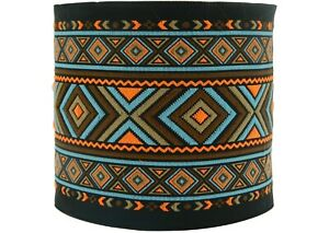 ~10m EMBROIDERED RIBBON TRIM*Aztek-Ethnic) 100mm (100995-V4)