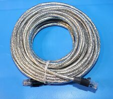 HIGH QULITY Cat6 UTP Network Patch Cable 10m - Clear - 4157