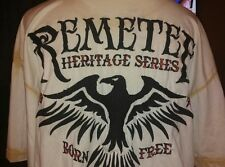 REMETEE Mens XL Shirt Heritage Series Bird Born Free LOS ANGELES