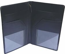 Genuine Leather Server Book / Waiter Organiser/ Waiter Service wallet/ -Black