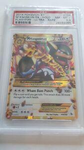 Pokemon 2014 XY Flashfire Ultra Rare M Kangaskhan Holo #109 PSA8.5 NM-MT +