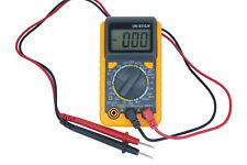 TESTER MULTIMETRO DIGITALE 20A DISPLAY LCD PUNTALI UK-831LN