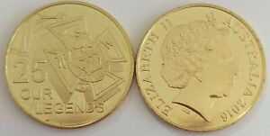 2016 Anzac to Afghanistan 25c coin new uncirculated, Our Legends
