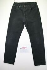 Levi's 615 (Cod. M1304) tg 50 W36 L34 jeans levis Nero vita bassa usato vintage