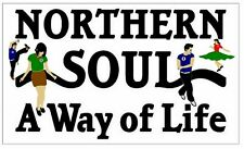 NORTHERN SOUL (WAY OF LIFE) - NOVELTY SOUVENIR FRIDGE MAGNET / NEW / GIFTS