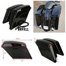 "FOR Harley  Electra Road Touring 1993-2013 5"" Stretched Extended Hard Saddle Bag"