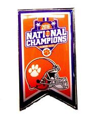 2016  NATIONAL CHAMPIONS  BANNER PIN - Clemson