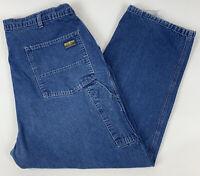 Vtg Osh Kosh Mens Carpenter Jeans Baggy Fit 100% Cotton USA Size 40 x 29