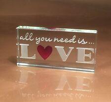 Spaceform todo lo que necesitas es amor romántico Ideas de regalo para ella & él 1873