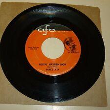 NORTHERN SOUL 45 RPM RECORD - PRINCE LA LA - AFO 303
