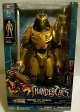"THUNDERCATS THUNDER LYNX ARMOR OF OMENS 12"" ACTION FIGURE WITH LION-O BANDAI"