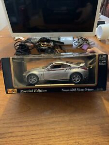1:18 MAISTO SPECIAL EDITION NISSAN 350Z NISMO S-tune 2004 ALL OPENING VERY RARE