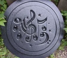 Welcome Hummingbird Flowers Stepping Stone Concrete Mold 1079 Moldcreations
