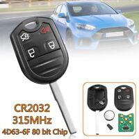 4 BTN Smart Remote Key Fob Keyless Entry For Ford F150 F250 F350 #1788A-FWB1U793