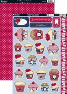 Kanban 2 x A4 Celebration Cupcakes Toppers
