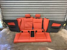 BMW 1 E82 Red Rear Seats Rear Set