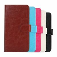Universal Mobile Phone Leather Case Shell For Smartphone Stand Flip Case Cover