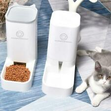 Dog Cat Automatic Feeder Safety Water Drinker Food Dispenser Puppy Feeding Bowl