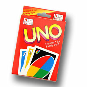 Standard 108 UNO Playing Cards Game for Travel Family Friends AU
