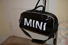 MINI COOPER Travel Bag Black Worn Condition Complete Strap &Handles