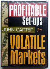 *RARE Stocking Trading DVD* PROFITABLE SETUPS FOR VOLATILE MARKETS (John Carter)