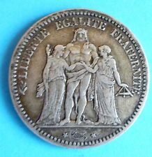 France 5 Franks 1873 A(Hercules Group)Mint Paris