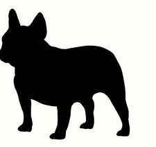 french bulldog sticker car wall bumper vinyl decal silhouette Dog breed