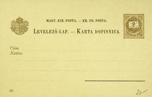 HUNGARY WATERFALL VIEW 2k ST. STEPHEN'S CROWN UNUSED PPC