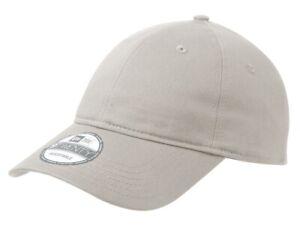 New Era 9TWENTY Adjustable Strapback Hat Dad Cap - Blank - Pick Color