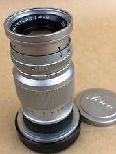 Leica M 9cm F/4 Elmar 90mm Ernst Leitz GmbH Wetzlar Lens M-Mount - Clean