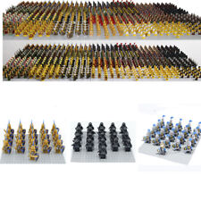 CUSTOM Knight Minifigures Military Army Soldier Figure for Lego Minifigure Set