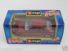 [PF3-10] BBURAGO BURAGO 1/43 STREET FIRE COLLECTION #4121 ALFA ROMEO 156 BORDEUX
