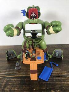 Teenage Mutant Ninja Turtles Micro Mutants LEO'S SURPRISE ATTACK Playset - Read