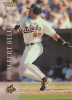 Albert Belle 2000 Topps HD #88 Baltimore Orioles baseball card