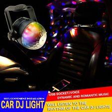 Car Neon Magic Plasma Sphere Auto Rhythm Sound Music Senor DJ Flashing RGB Light