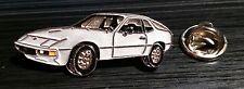 Porsche Pin 924 silbern lackiert 39x15mm