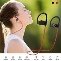Bluetooth Headset Wireless Headphone Sports Earbuds w/ Mic for iPhone Android