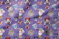 Printed Cotton 100% Eco Print Disney Christmas Printed Fabric
